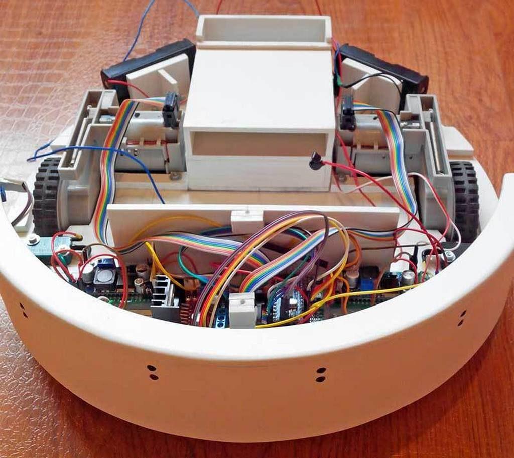 Робот-пылесос своими руками схема