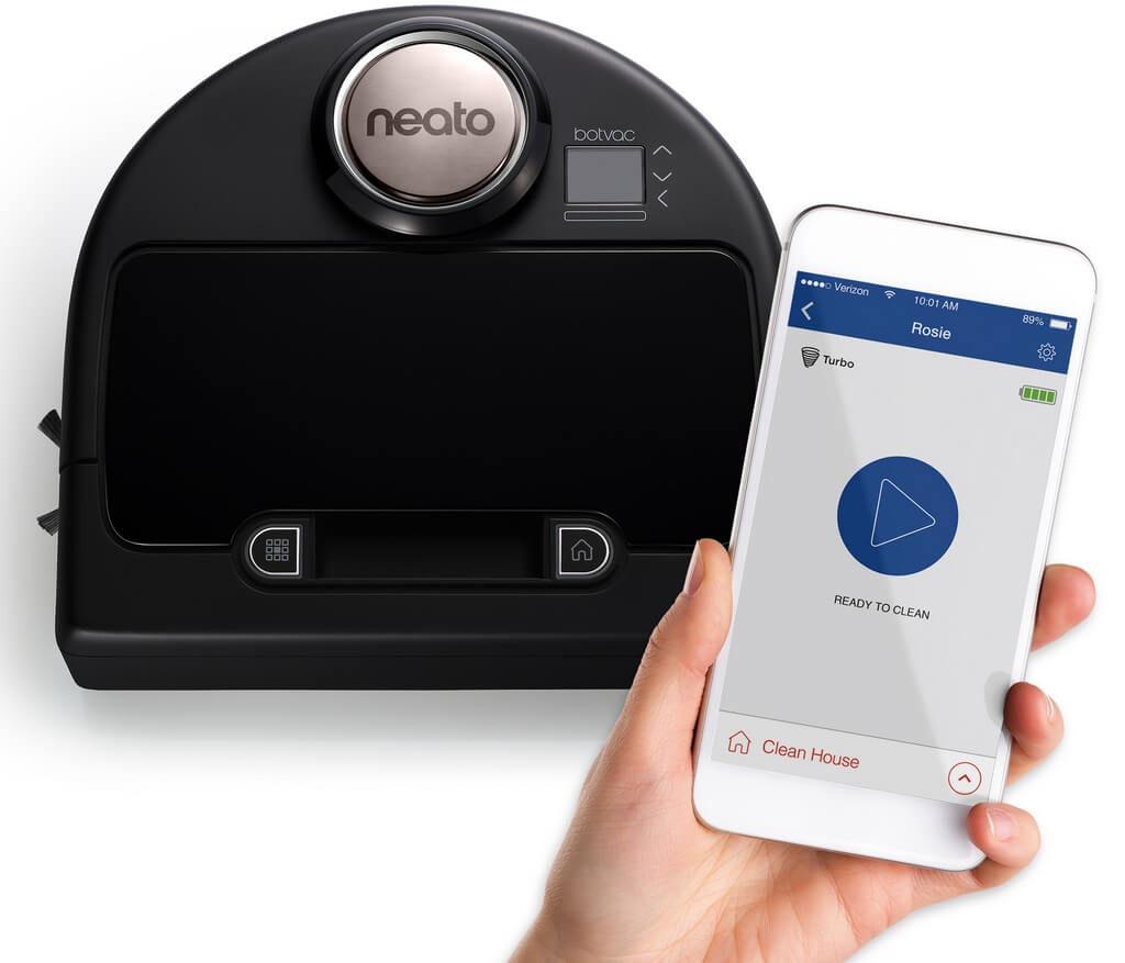 Управление роботом-пылесосом Neato Botvac с телефона