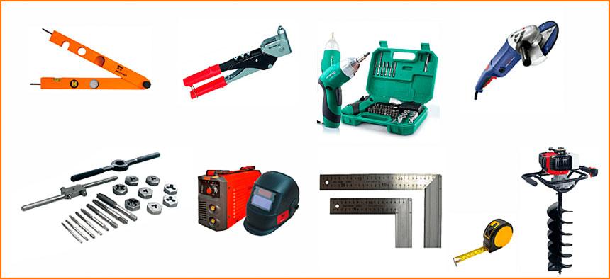 Минимальный набор инструмента для монтажа автоматики