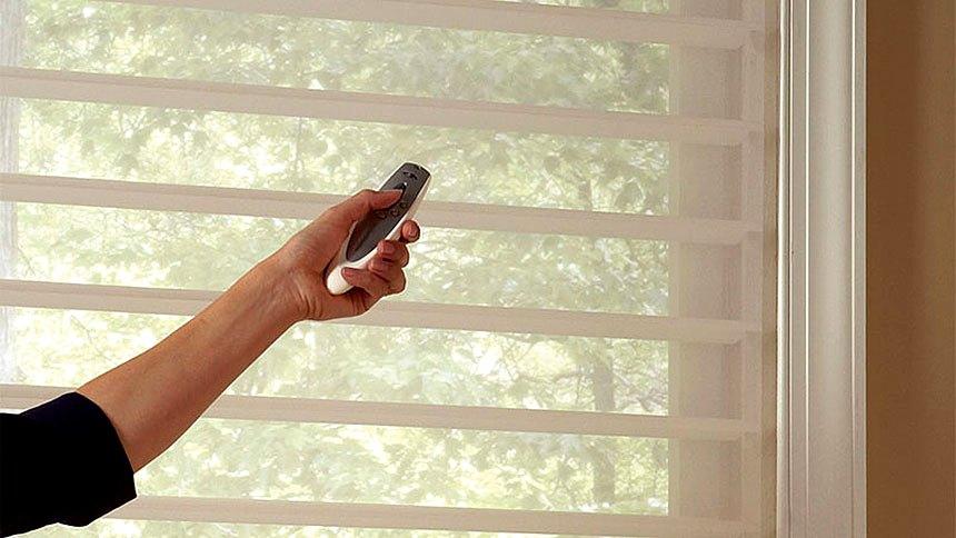 Рулонные шторы с электроуправлением