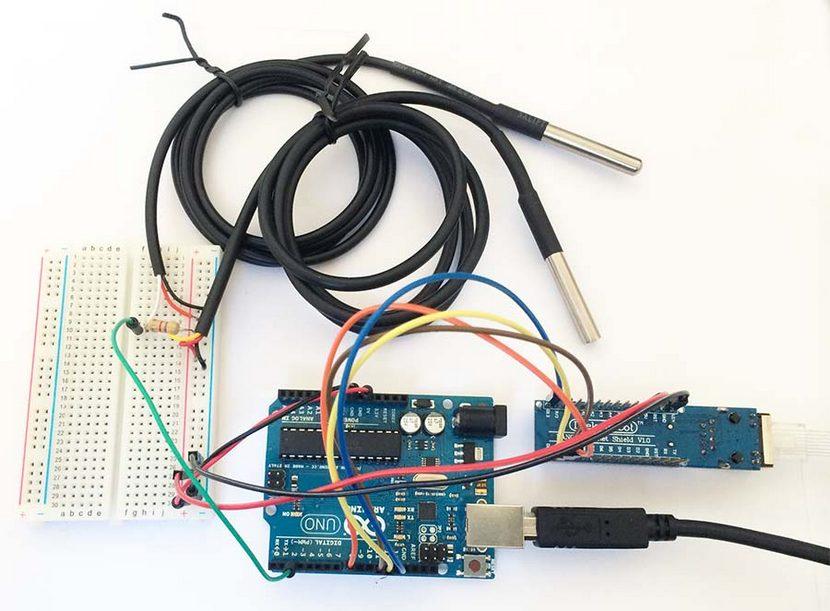 Ds18b20 подключение к Arduino