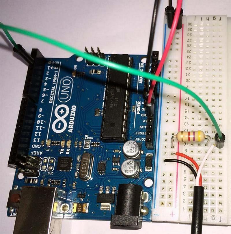 Подключение DS18B20 к Arduino