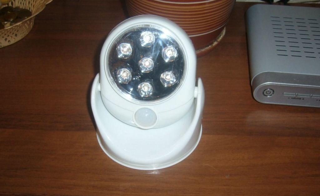 Сенсорный светильник Умный свет