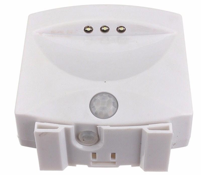 Светодиодный светильник с датчиком движения и освещенности
