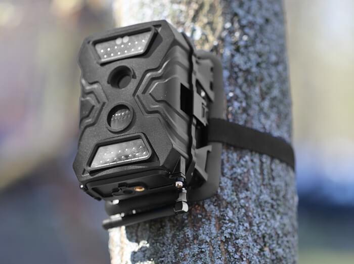 Уличная gsm камера с датчиком движения