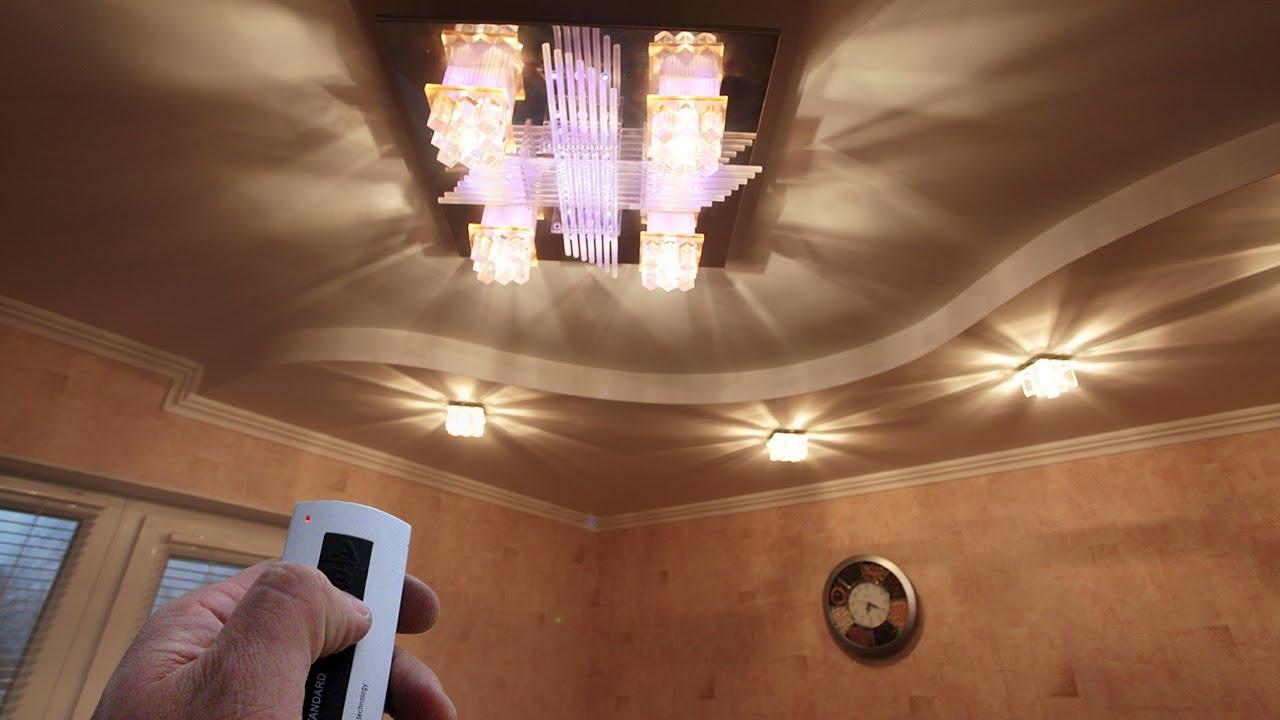 Управление освещением в квартире своими руками
