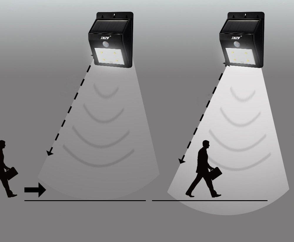 Принцип работы светодиодного светильника (лампы) с датчиком движения