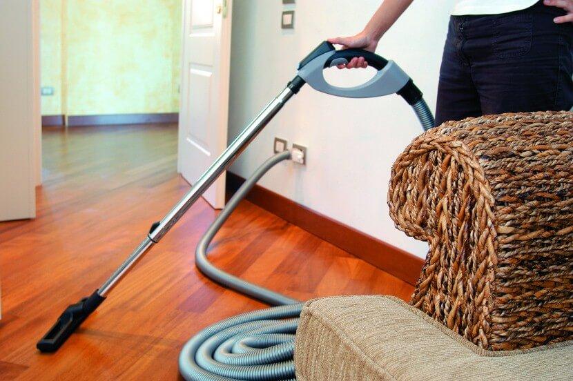 Система пылеудаления в квартире - принцип работы