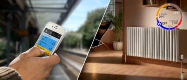 Лучшие результаты показывает автоматическая система отопления, работающая на поддержание установленной температуры в доме