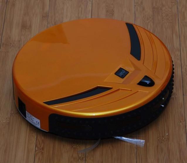 Вместо него разработчики использовали резиновый бампер с расположенными по периметру ИК- сенсорами, измеряющими расстояние до объектов