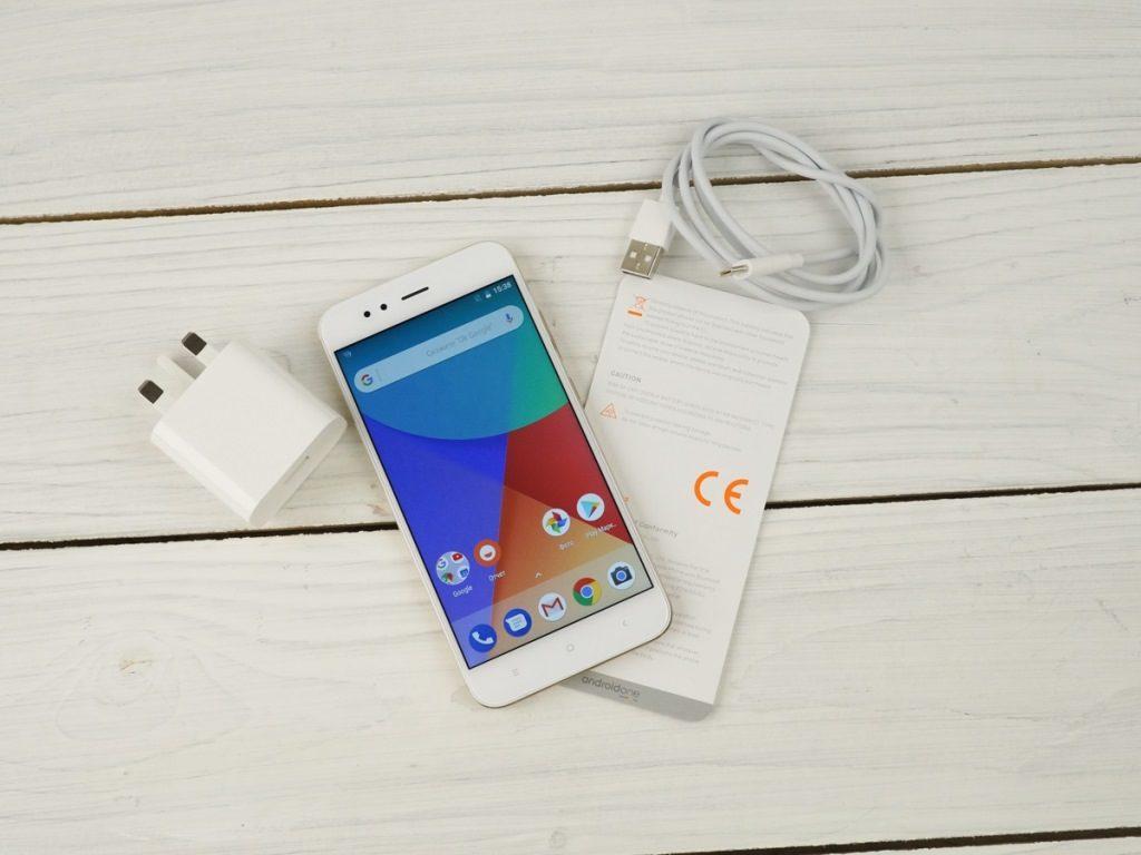 Комплектация телефона Xiaomi Mi A1
