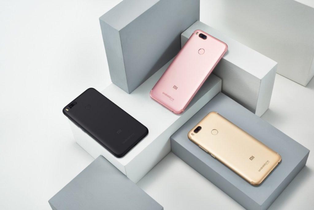 3 цвета Xiaomi Mi A1