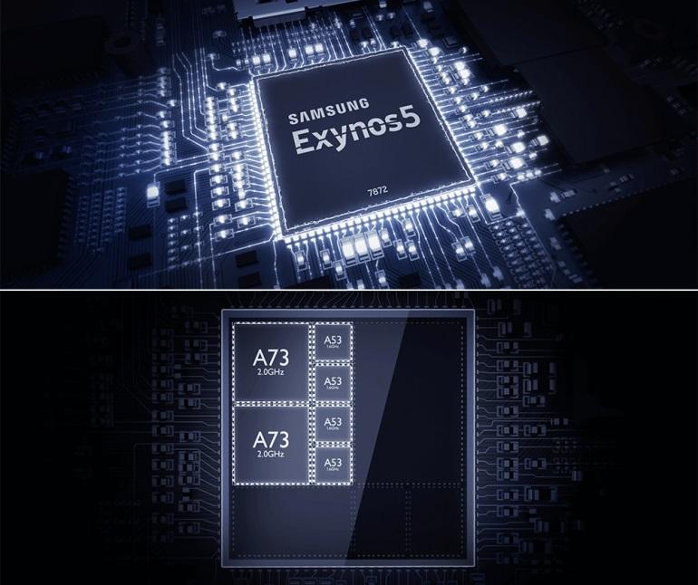 Будет установлен процессор Samsung Exynos 7872