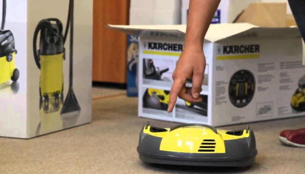 Преимущества применения робота-пылесоса «Керхер»