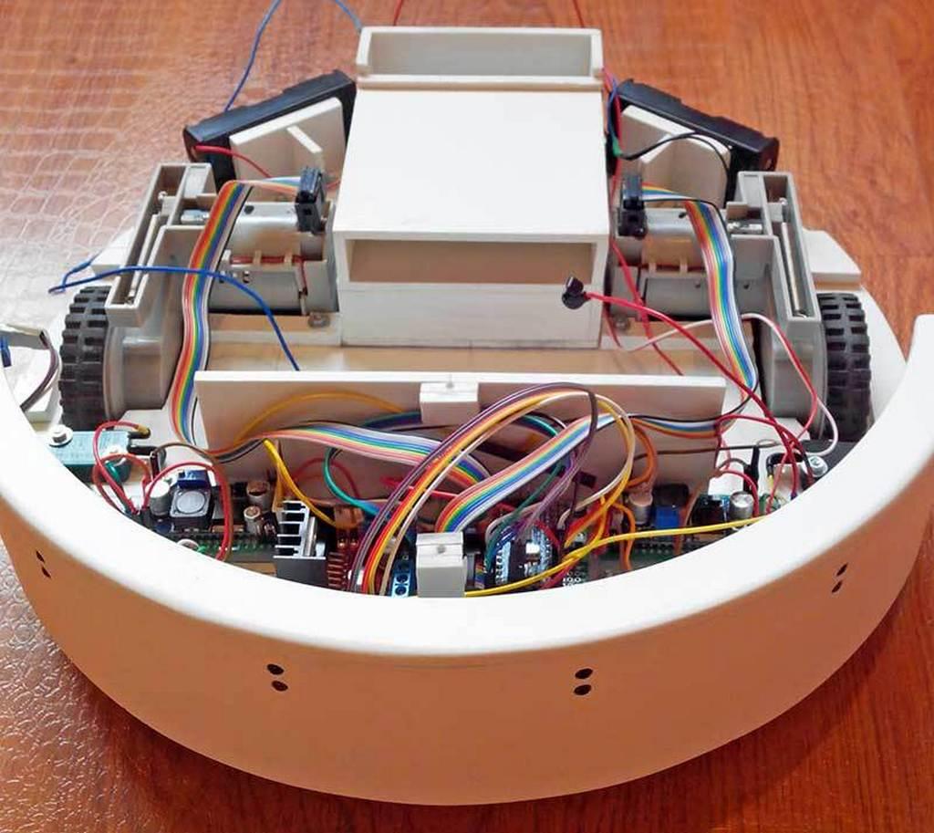 Как сделать робот пылесос своими руками фото 269