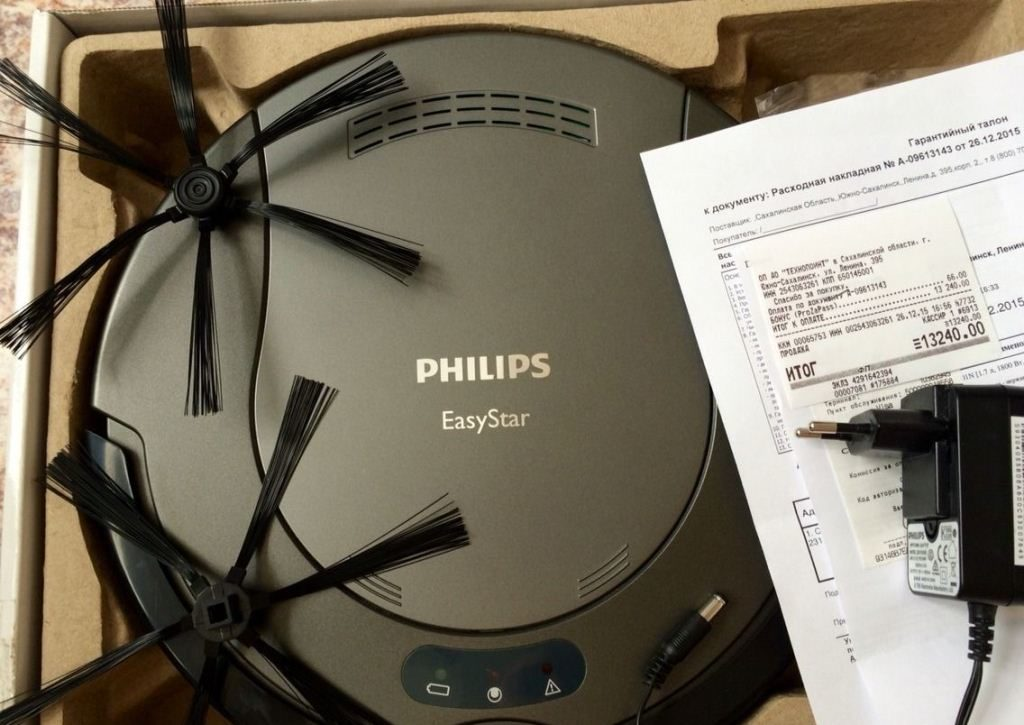 Робот-пылесос Philips Easy Star