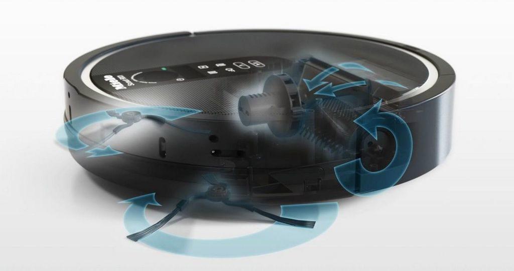 Робот-пылесос Miele SJQL0 Scout RX1 имеет низкий уровень шума