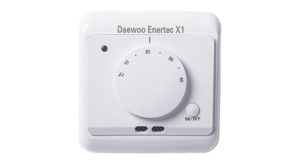 Терморегулятор механический для теплого пола DAEWOO ENERTEC X1