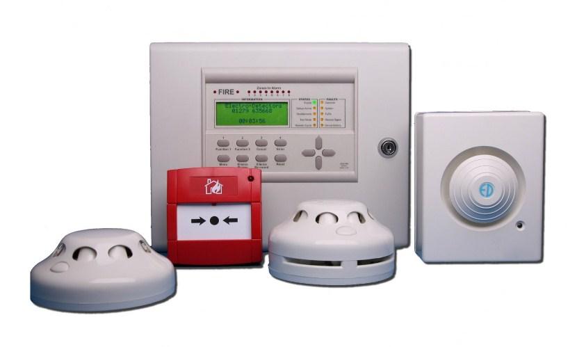 Пожарная сигнализация в дом - дымовые датчики