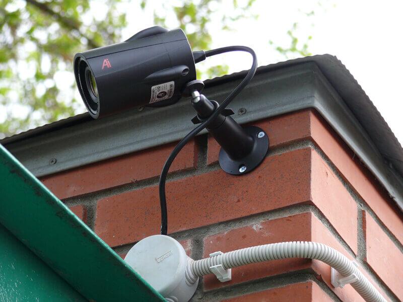 Видеокамера для наружного наблюдения с датчиком движения