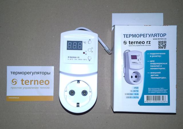 Terneo RZ — розеточный терморегулятор