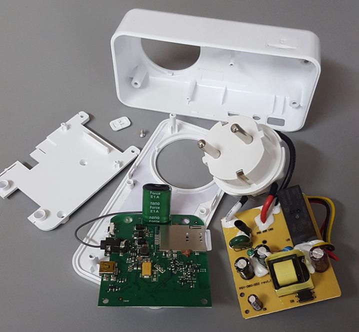 Из чего состоит GSM-розетка Телеметрика Т4