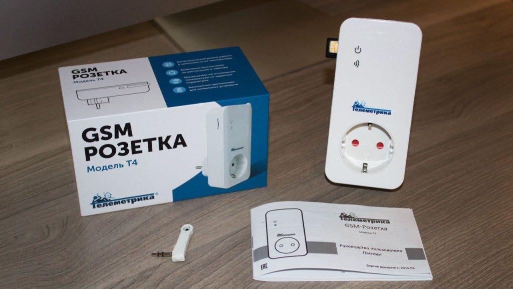 GSM-розетка Телеметрика Т4 - описание и функции