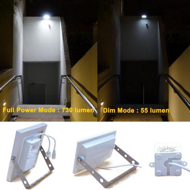 Пример использования светодиодного светильника (лампы) с регулятором освещенности