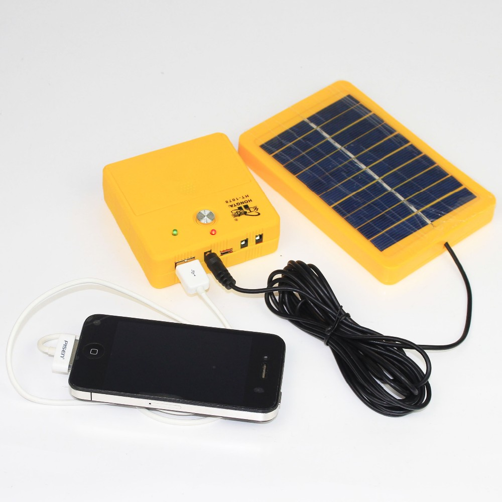 Солнечный литий-ионный аккумулятор для телефонов