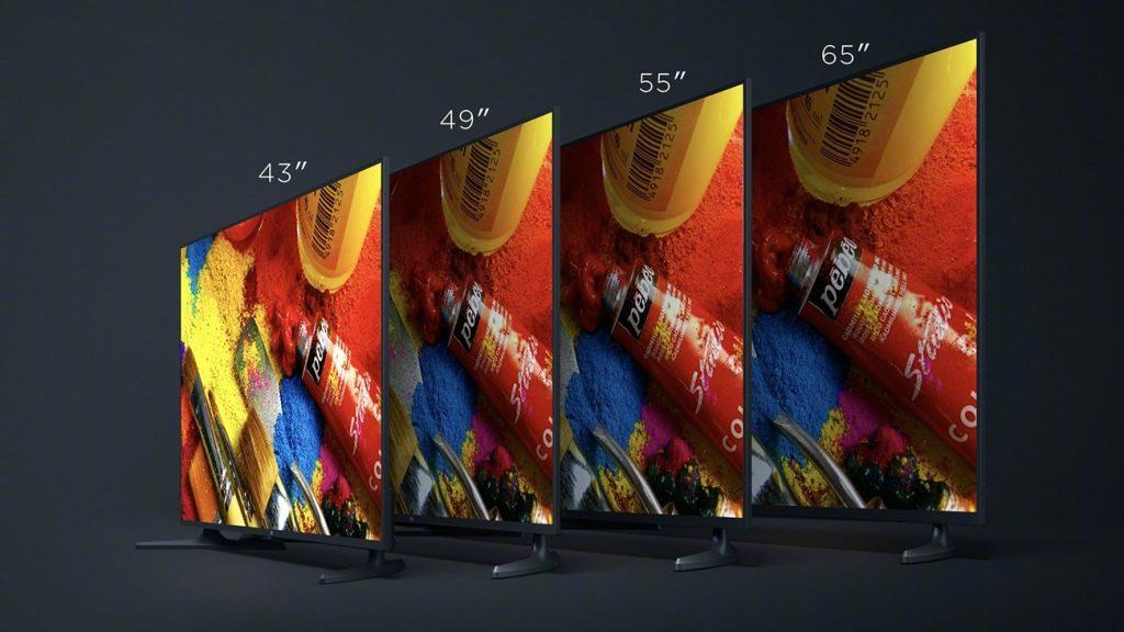 Xiaomi Mi TV 4A с размером экрана 43, 49 и 55 дюймов