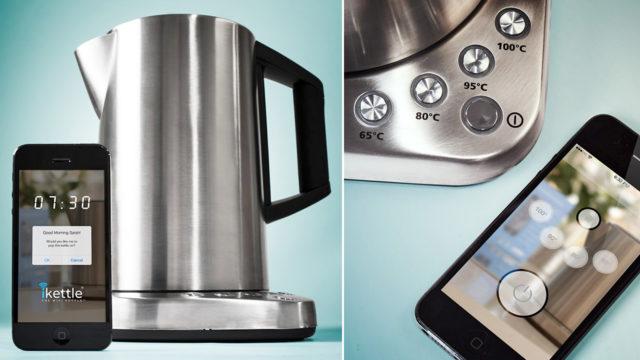 Она позволяет управлять кухонной техникой при помощи специального приложения для Android и iOs