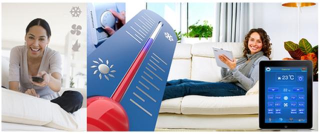 Хозяин дома может с помощью СМС дать команду поднять или опустить эту температуру