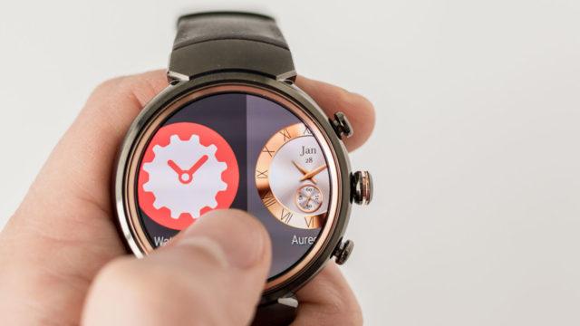 ASUS предлагает стильные часы с огромным количеством функций
