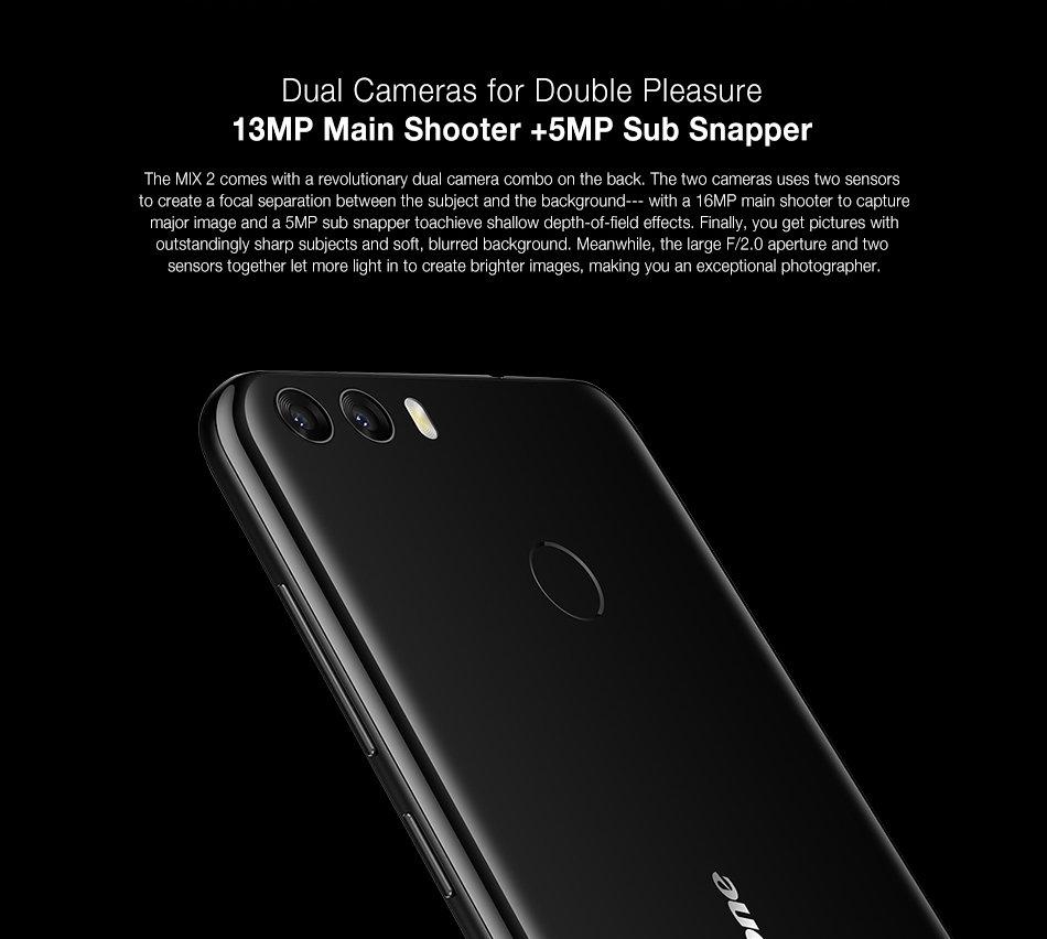 Камера Ulefone Mix 2