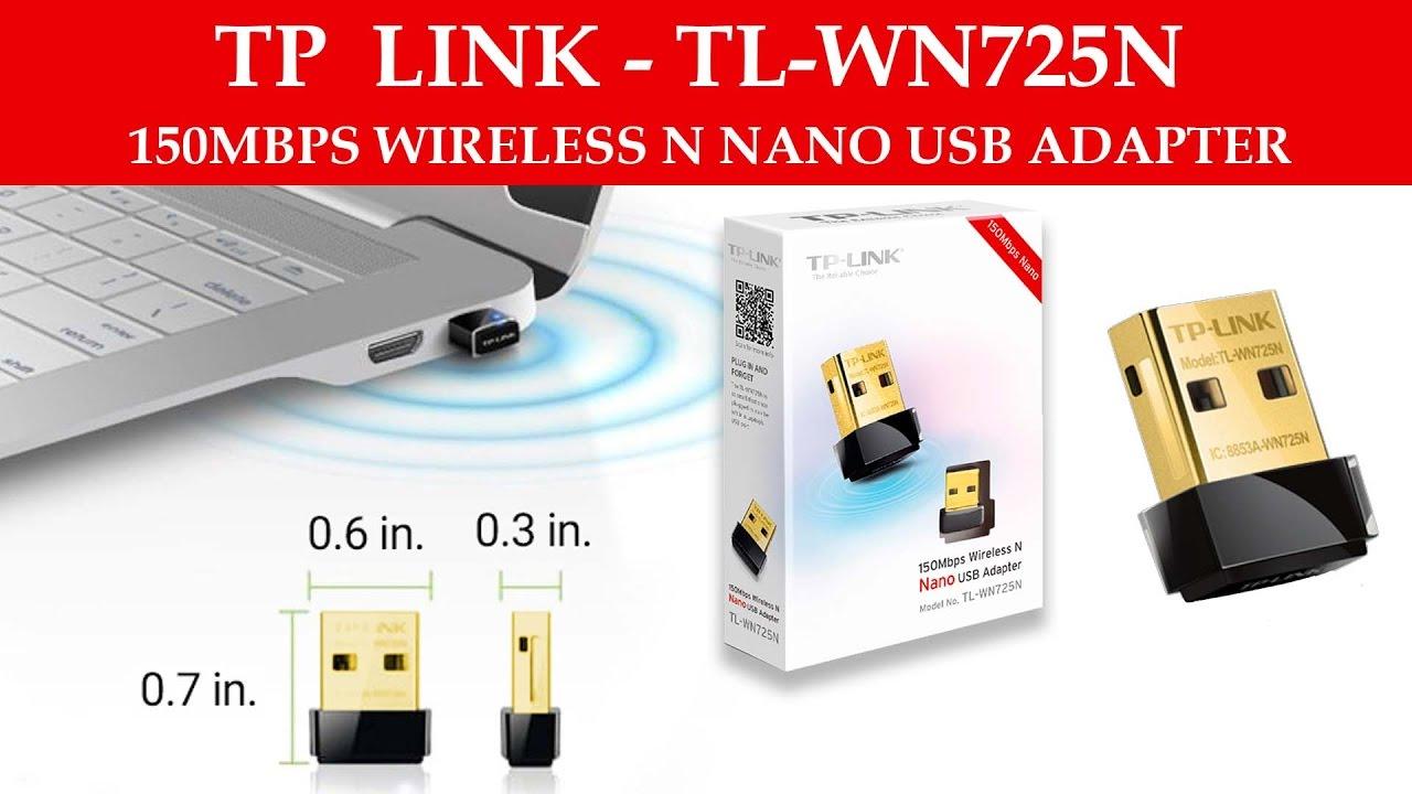 Nano TP Link TL WN 725N