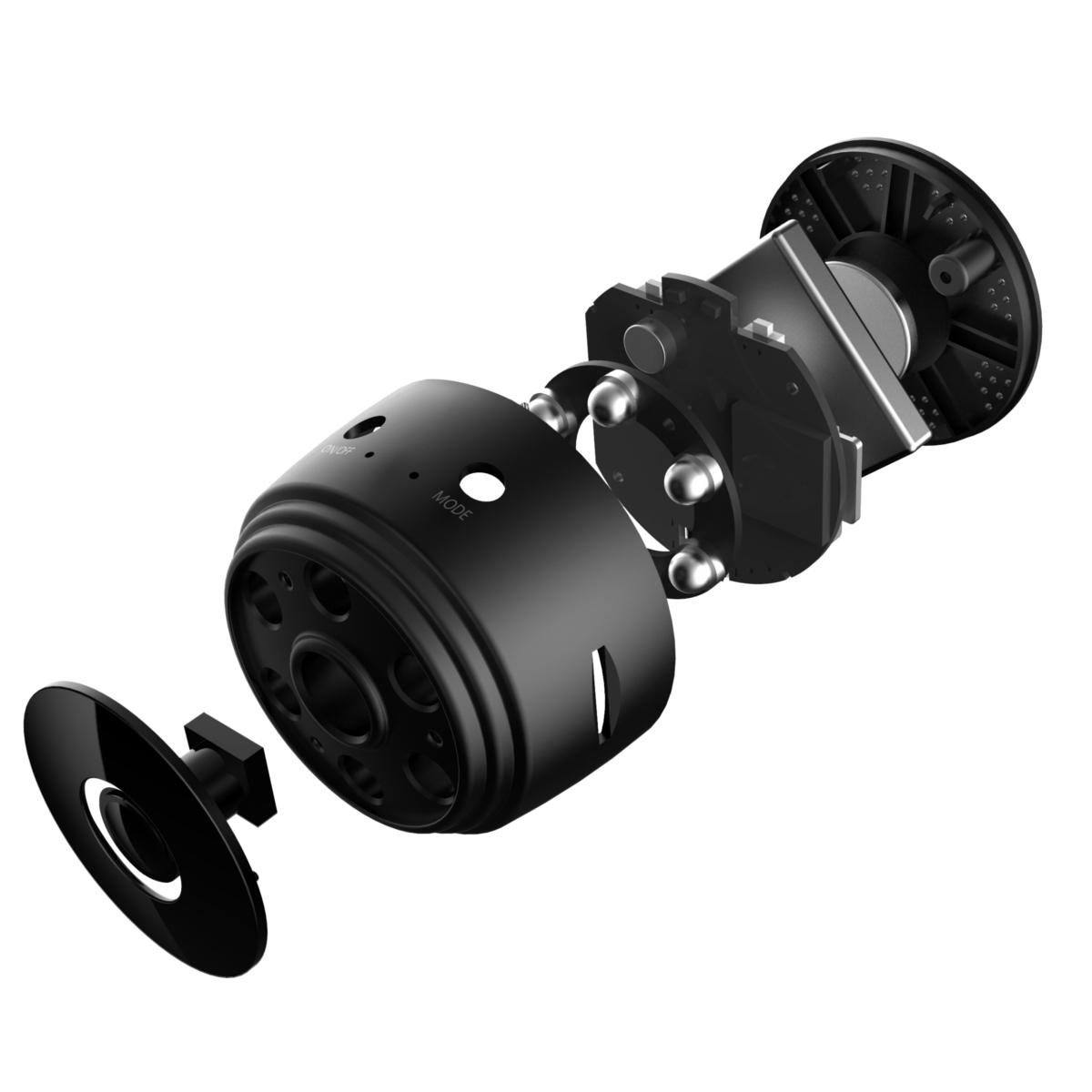 Беспроводная Wi Fi мини камера SQ17 1080P с ночным зрением