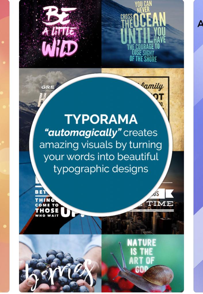 typorama приложение